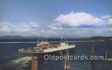 shi052040 - The MV Valcour, Burlington, Vermont, VT USA Ferry Ship Postcard Post Card