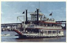 shi052041 - MV Huck Finn, Saint Louis, Missouri, MO USA Ferry Ship Postcard Post Card