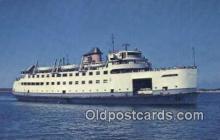 shi052045 - The MV Nantucket, Cape Cod, Massachusetts, MA USA Ferry Ship Postcard Post Card