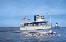 shi052048 - Fall River  Line Ferry Ship Postcard Post Card