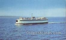 shi052054 - Martha's Vineyard Ferry, Islander, Martha's Vineyard Ferry Ship Postcard Post Card