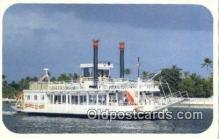 shi052057 - Island Queen Riverboat, Riviera Beach, Florida, FL USA Ferry Ship Postcard Post Card