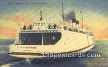 shi052058 - City Of Munising, St Ignace, Michigan, MI USA Ferry Ship Postcard Post Card