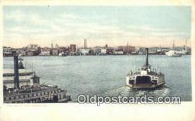 shi052061 - Norfolk, Virginia, VA USA Ferry Ship Postcard Post Card