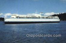 shi052074 - Mv Queen Of Burnaby, British Columbia, BC Ferry Ship Postcard Post Card