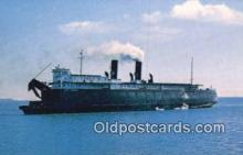 shi052080 - Chief Wawatam Railroad Car Ferry, Michigan, MI USA Ferry Ship Postcard Post Card