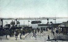 shi052083 - Pier Head And Ferry Boats Liverpool Ferry Ship Postcard Post Card