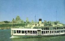 shi052086 - Quebec, PQ, Canada Ferry Ship Postcard Post Card