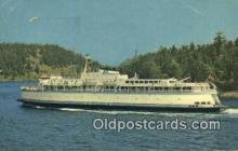 shi052093 - MV Queen Of Victoria, Victoria, British Columbia, BC  Ferry Ship Postcard Post Card
