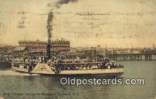 shi052099 - PS Eagle, Auckland, New Zeeland Ferry Ship Postcard Post Card