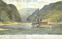shi052101 - An Bord Des Dampfers, Deutscher Kaiser, Ruine,, Die, Maus Ferry Ship Postcard Post Card