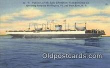 shi052103 - MV Valcour, Port Kent, Kentucky, KT USA Ferry Ship Postcard Post Card