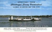 shi052119 - Stow Ferry, New York, NY USA Ferry Ship Postcard Post Card