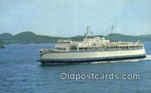 shi052129 - MV Queen Of Victoria, British Columbia, BC Ferry Ship Postcard Post Card