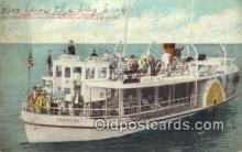 shi052145 - Glass Bottom Power Boat Empress, Catalina Island, California, CA USA Ferry Ship Postcard Post Card