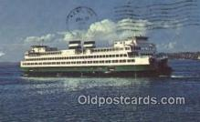 shi052149 - Washington State Super Ferry, Washington, WA USA Ferry Ship Postcard Post Card