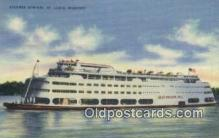 shi052162 - Steamer Admiral, St Louis, Missouri, MO USA Ferry Ship Postcard Post Card