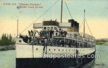 shi052167 - CPR SS Princess Charlotte  Ferry Ship Postcard Post Card