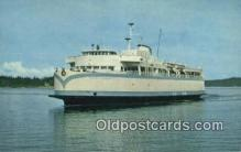 shi052170 - MV Queen OF Esquimalt, Victoria, British Columbia, BC  Ferry Ship Postcard Post Card