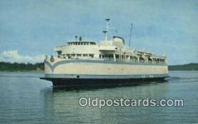 shi052170 - MV Queen OF Esquimalt, Victoria, British Columbia, BC  Ferry Ship Postcard Post Card