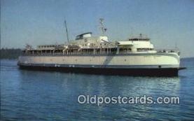 shi052172 - MV Queen OF Saanich, Victoria, British Columbia, BC  Ferry Ship Postcard Post Card