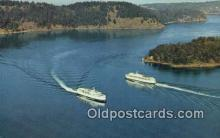 shi052174 - BC Ferries, Victoria, British Columbia, BC Ferry Ship Postcard Post Card