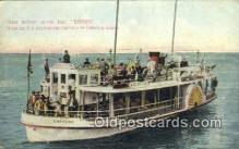 shi052177 - Glass Bottom Power Boat Empress, Catalina Island, California, CA USA Ferry Ship Postcard Post Card