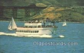 shi052198 - MV Harbor Prince, San Francisco Bay, California, CA USA Ferry Ship Postcard Post Card