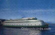 shi052201 - Washington State Ferry, Kalakala, Washington, WA USA Ferry Ship Postcard Post Card