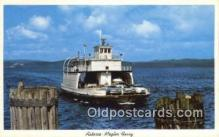 shi052203 - Astoria Megler Ferry, Washington, WA USA Ferry Ship Postcard Post Card