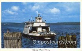 shi052203 - Astoria Megler Ferry, Washington, WA USA Ferry Ship Postcard Post Card