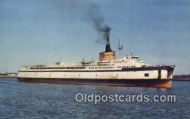 shi052211 - The Ferry Pocahontas, Norfolk, Virginia, VA USA Ferry Ship Postcard Post Card