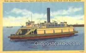 shi052230 - Ferry Steamer Hampton Roads Ferry Ship Postcard Post Card