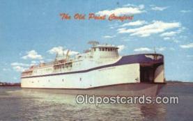 shi052232 - The Old Point Comfort, Kiptoeke Beach, Virginia, VA USA Ferry Ship Postcard Post Card
