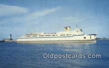 shi052238 - Elongated Automobile Ferry, The Princess Anne, Little Creek, Virginia, VA USA Ferry Ship Postcard Post Card