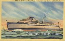 shi052250 - The SS Princess Anne Ferry Boat, Cape Charles, Virginia, VA USA Ferry Ship Postcard Post Card
