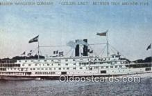 shi052263 - Citizens Line Ferry, Troy, NEW York, NY USA Ferry Ship Postcard Post Card