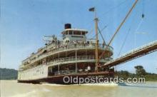 shi052264 - SS Delta Queen, Cincinnati, Ohio, OH USA Ferry Ship Postcard Post Card