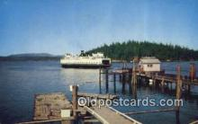 shi052266 - Motor Ferry Klickitat, Victoria, British Columbia, BC  Ferry Ship Postcard Post Card