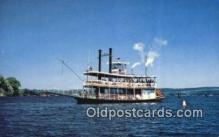 shi052268 - Steamer Chaitaiqia Belle, Mayville, New York, NY USA Ferry Ship Postcard Post Card