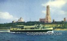 shi052272 - Circle Line Sightseer VII, Manhattan, Island,  New York City, New York, NY USA Ferry Ship Postcard Post Card