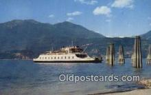 shi052278 - MV Anscomb, Nelson, British Columbia, BC  Ferry Ship Postcard Post Card