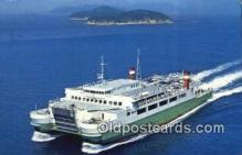 shi052279 - Kansai Line Ferry Ship Postcard Post Card