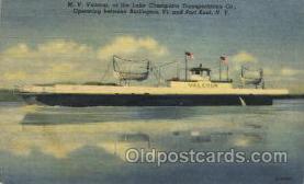 shi053014 - M.V. Valcour Ship Ships Postcard Postcards