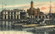 shi053015 - Alger-L'Amiraute et la Defense Mobile-LL. Ship Ships Postcard Postcards