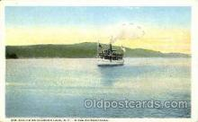 shi053032 - Str. Evelyn on Schroon Lake,  New York, USA Boat, Boats, Postcard Postcards
