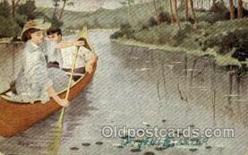 shi053041 - Artist GES Boat, Boats, Postcard Postcards