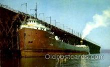 shi053042 - KD 105, Giant Freighter, Lake Superior, USA Boat, Boats, Postcard Postcards