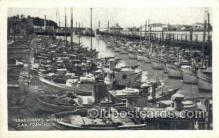 shi053052 - San Francisco CA USA Fishermans Wharf Ship Postcard Postcards