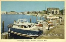 shi053057 - Oak Bluffs Harbor Ship Postcard Postcards